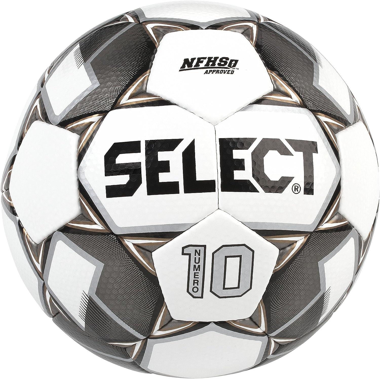 Numero Phoenix Mall 10 Soccer Ball Sz 5 New Black EA excellence White Gold
