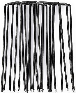Piquets de Tente Clous de Boue de Neige Coupe-Vent Piquets de piquets de canop/ée r/ésistants auvent en Forme de U pour lext/érieur