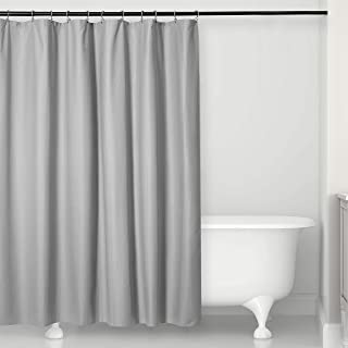"""MICRODRY Water Repellent Fabric Embossed Shower Curtain Liner – Superior Fabric Quality – Luxury – Bathroom 