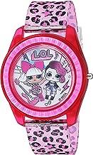 L.O.L. Surprise! Girls' Quartz Watch with Plastic Strap, Pink, 17.6 (Model: LOL4000