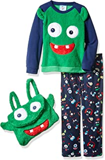 Bunz Kidz Baby Girls Happy Holla Days Deer 2pc Pajama Set