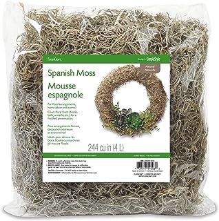 FloraCraft Spanish Moss 2 Ounce Natural