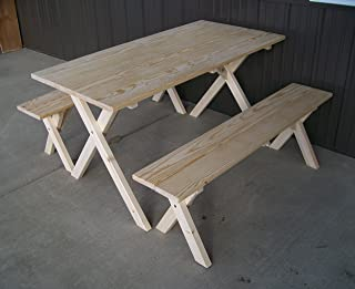 amish picnic table plans