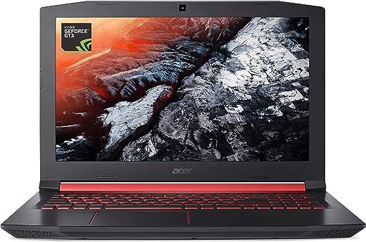 "Acer Nitro 5 Gaming Laptop, Intel Core i5-7300HQ, GeForce GTX 1050 Ti, 15.6"" Full HD, 8GB DDR4, 256GB SSD, AN515-51-55WL"