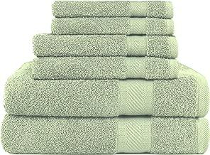 e 2 Asciugamani per Il Faccio//Gym 35x75 cm 2 Asciugamani da Bagno 2 Colori: Bianco e Grigio Perla qualit/à Massima BEUFIRST Set di 4 Asciugamani 100/% Cotone 600 Grammi 70x140 cm