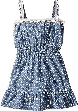 Blossom Woven Dress (Toddler/Little Kids)