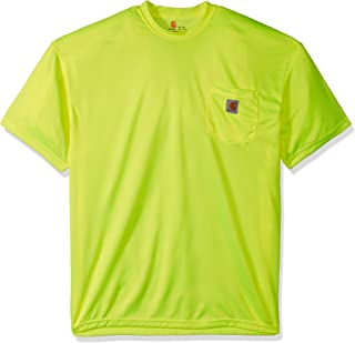 Carhartt Men's Big and Tall Hi-Visibility Force Color Enhanced Short Sleeve T-Shirt