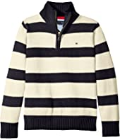 Tommy Hilfiger Kids - George Stripe Sweater (Toddler/Little Kids)