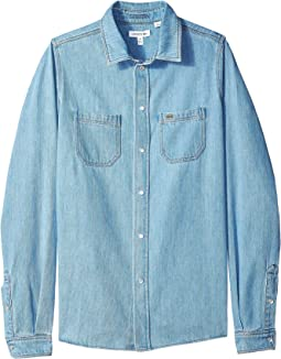 Denim Shirt (Little Kids/Big Kids)