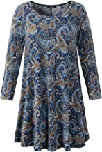Best plus size swing tunic tops Reviews