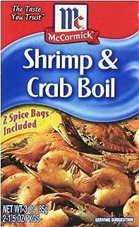 McCormick Golden Dipt Shrimp & Crab Boil Spice, 3 oz