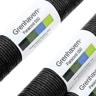 comprar comparacion Grenhaven - 31 Metros m Soporta 250 Kilogramo kg 550 lbs Cuerda de Paracaídas - para Kit de Supervivencia - 7 Resistentes ...