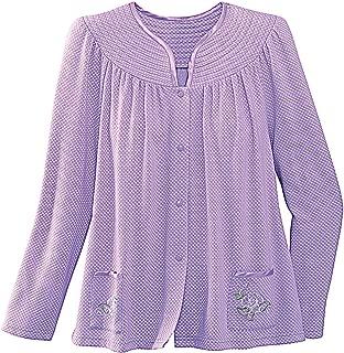 National Trapunto Yoke Bed Jacket