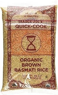 Trader Joe's Organic Brown Basmati Rice 32 oz