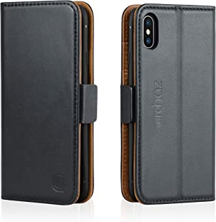 iphone xs leather wallet case