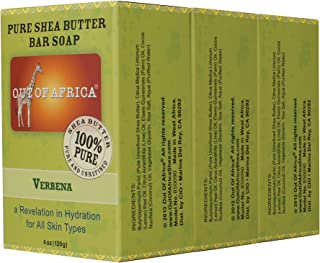 Out of Africa Shea Butter Bar Soap, Lemon Verbena, 12 Ounce
