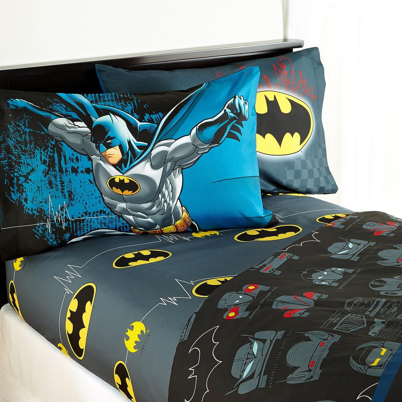 Warner Bros Batman 'Guardian Speed' Genuine Set San Francisco Mall Twin Kids Sheet