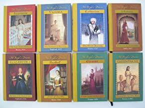 Royal Diaries Series (Set of 8 Books) Anastasia, Victoria, Catherine, Jahanara, Elizabeth I, Isabel, Eleanor, Cleopatra VII