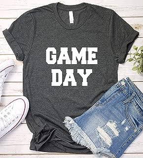 Game Day Shirt, Sport Mom Dad Funny Saying T-Shirt Gift Idea, Long Sleeve, Short Sleeve, V-Neck, Sweatshirt, Hoodie