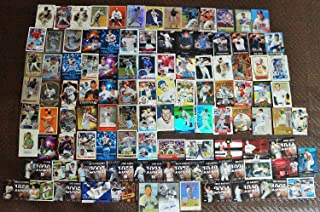 BASEBALL STAR CARDS 400 COUNT BOX JERSEYS/AUTO/INSERTS/ROOKIES MANTLE/JETER/TROUT/ETC