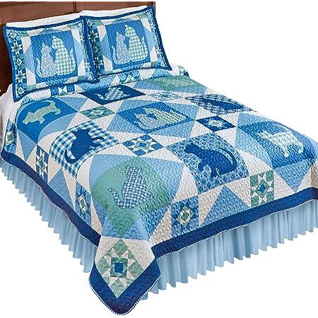 Nala Cat Patterned Pillow Sham Set