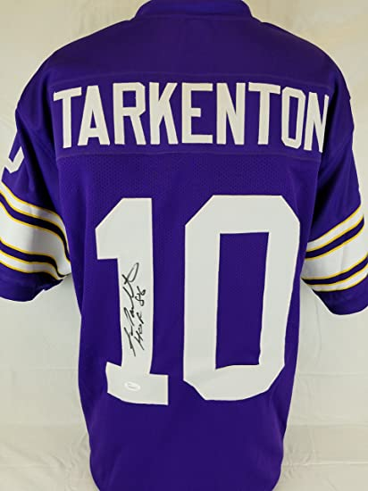 Fran Tarkenton Signed autographed jersey JSA COA Vikings football ...