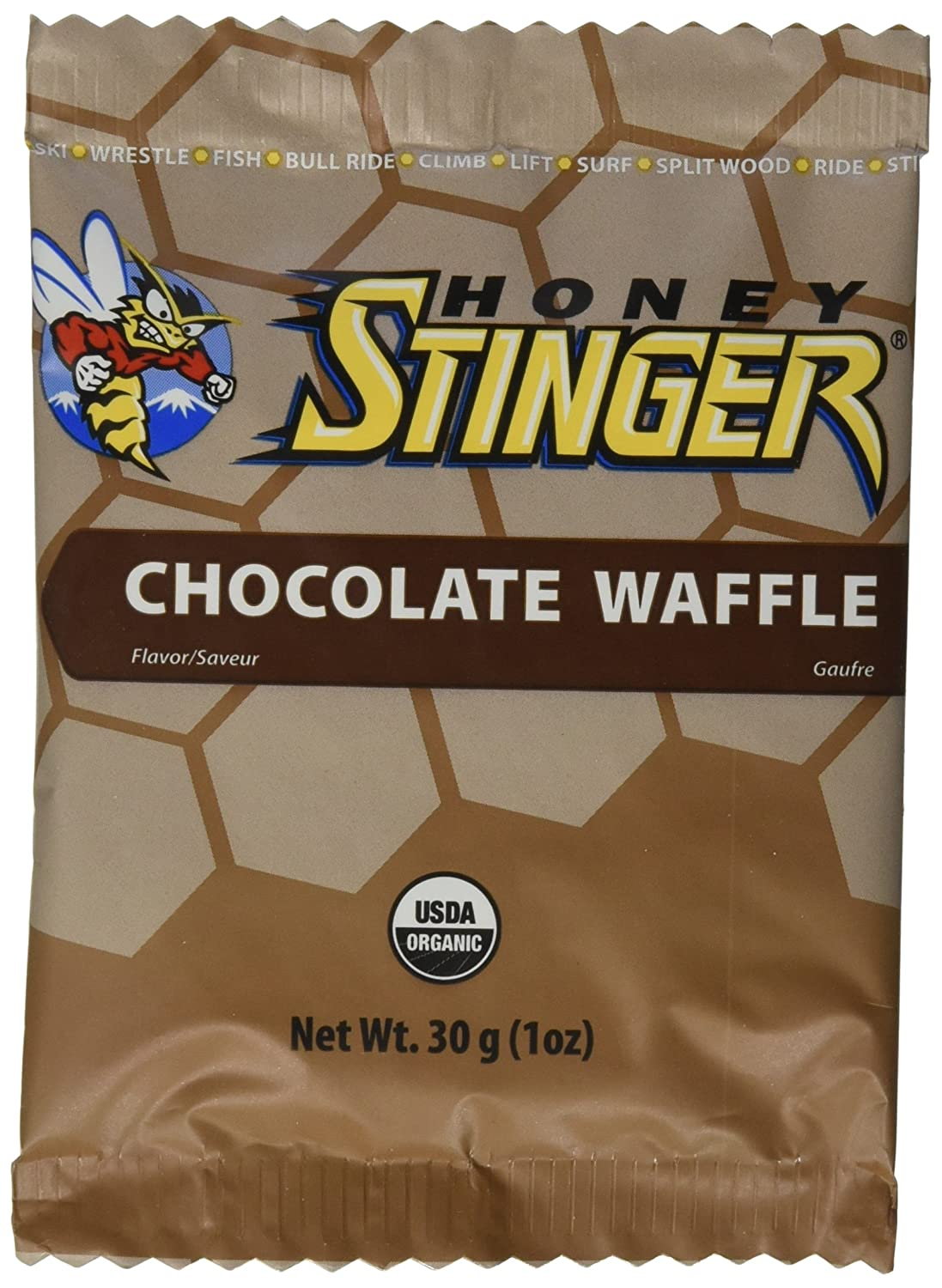 HONEY STINGER Food Chocolate Waffle 16 low-pricing Ounce Tampa Mall 1 Count