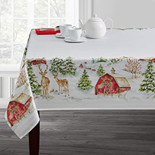 Best country christmas tablecloths Reviews