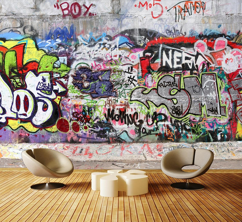 Dalinda Premium Vliestapete Graffiti 3 Fototapete DA00000027 XL 350 350 350 x 245 cm - 7 Teile - Vlies Vliestapete XXL B0721TBX7Z 2efd4b