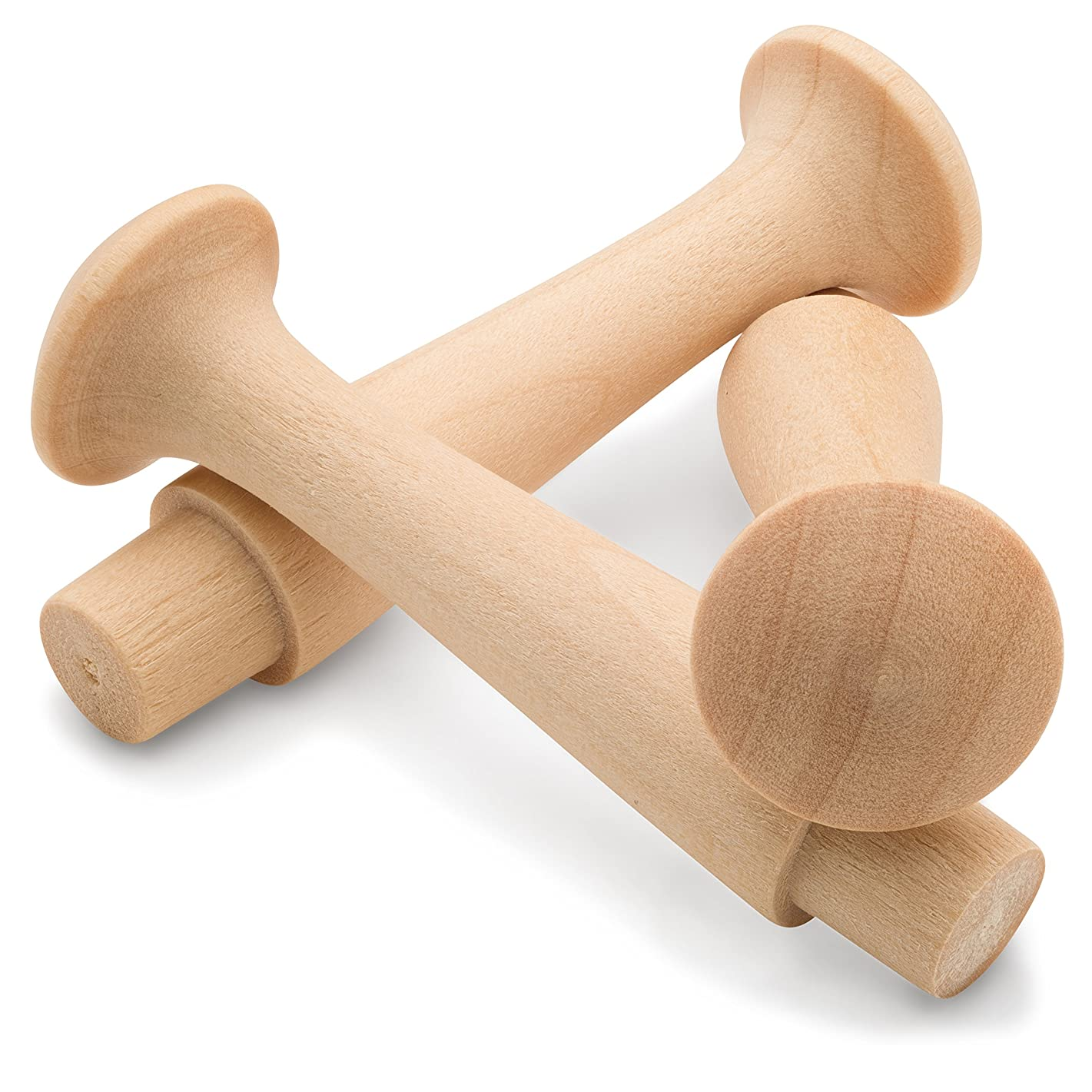 Shaker Pegs 2-7/16 Inch 1/2 Tenon - Package of 25 - by Woodpeckers