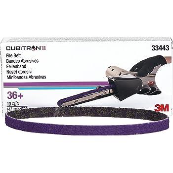 PFERD 49545 Abrasive File Belt 24 Length x 1//2 Width Ceramic Oxide Co-Cool Pack of 10 60 Grit
