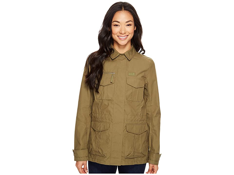Jack Wolfskin Rock View Jacket (Burnt Olive) Women