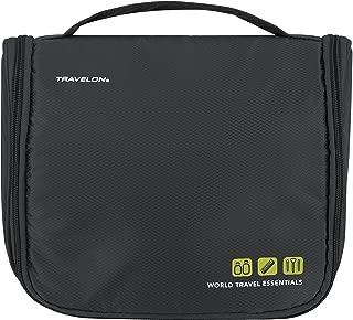 Travelon World Travel Essentials Toiletry Kit, Graphite