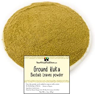 Ground Kuka, Baobab Leaves powder (100g / 3.5oz)