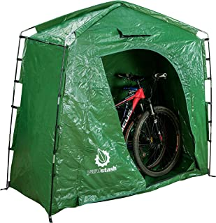 YardStash The IV: Heavy Duty, Space Saving Outdoor Storage Shed Tent for Bicycle Storage, Outdoor Equipment Storage, Garden Tool Storage, Pool Storage, Cushion Storage and More (Renewed)