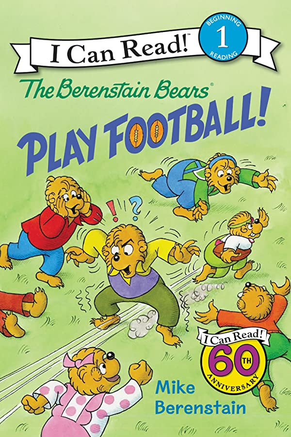 セットアップ店員中止しますThe Berenstain Bears Play Football! (I Can Read Level 1) (English Edition)