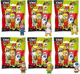 Super Mario Party Favors Packs -- 6 Super Mario Mystery Packs with Surprise Toys (Super Mario / Mario Kart Party Supplies Set)