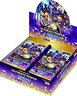 デジモンカードゲーム ブースター ULTIMATE POWER 【BT-02】(BOX)