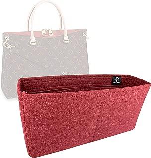 Zoomoni LV Pallas MM Bag Insert Organizer - Premium Felt (Handmade/20 Colors)
