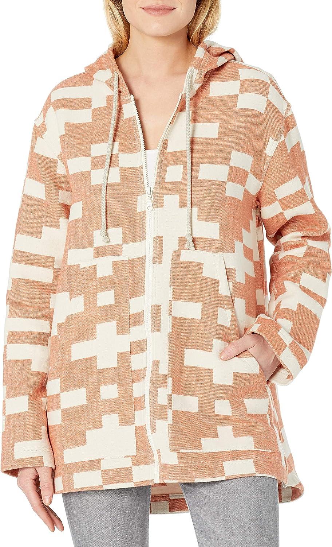 Pendleton Women's Oversized Cotton Chamois Zip Up Hoodie