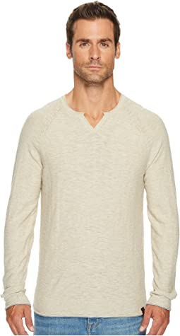 Lucky Brand - Notch Neck Sweater