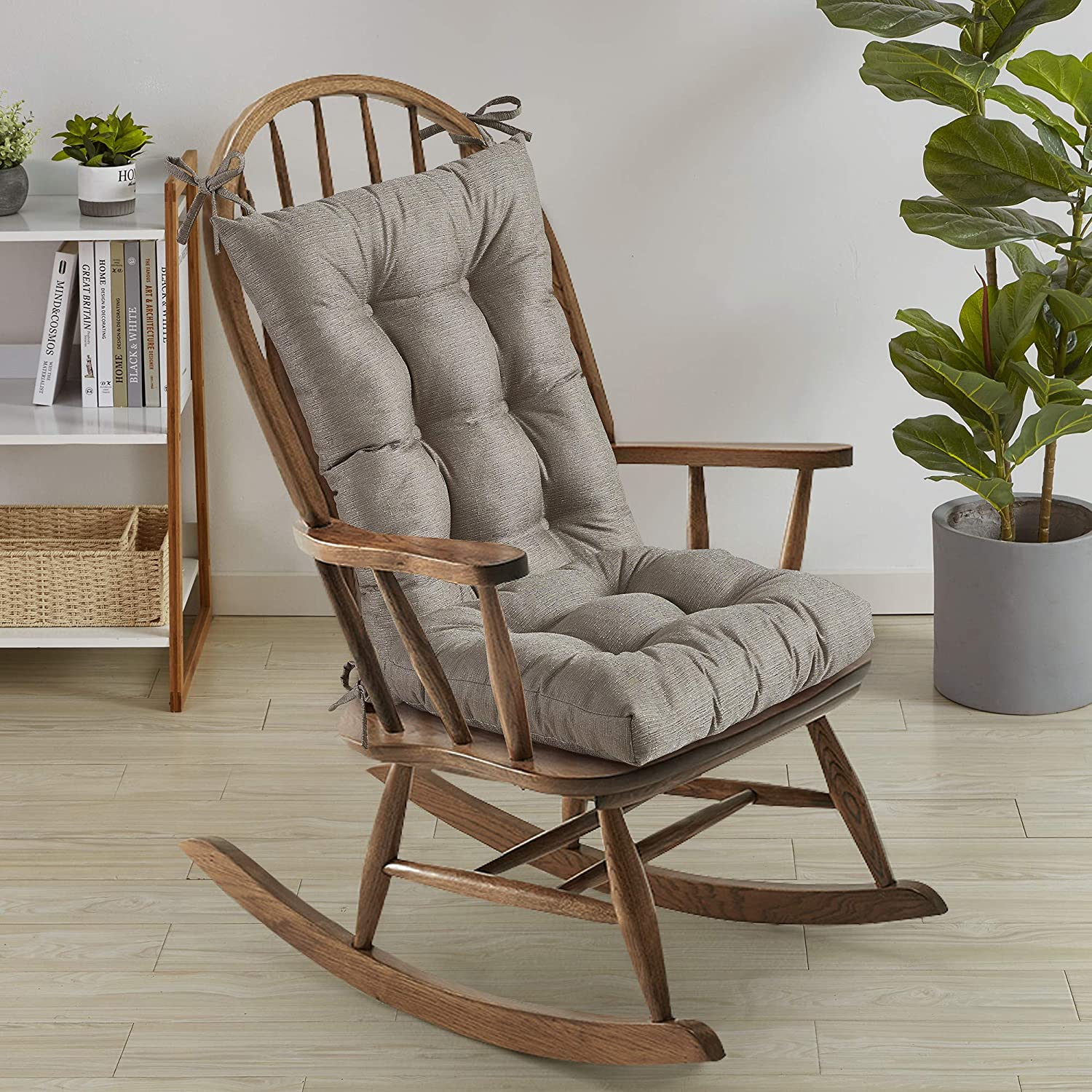Sweet Colorado Springs Mall Home Collection Rocking Chair Cushion High order Pads Tufted Premium