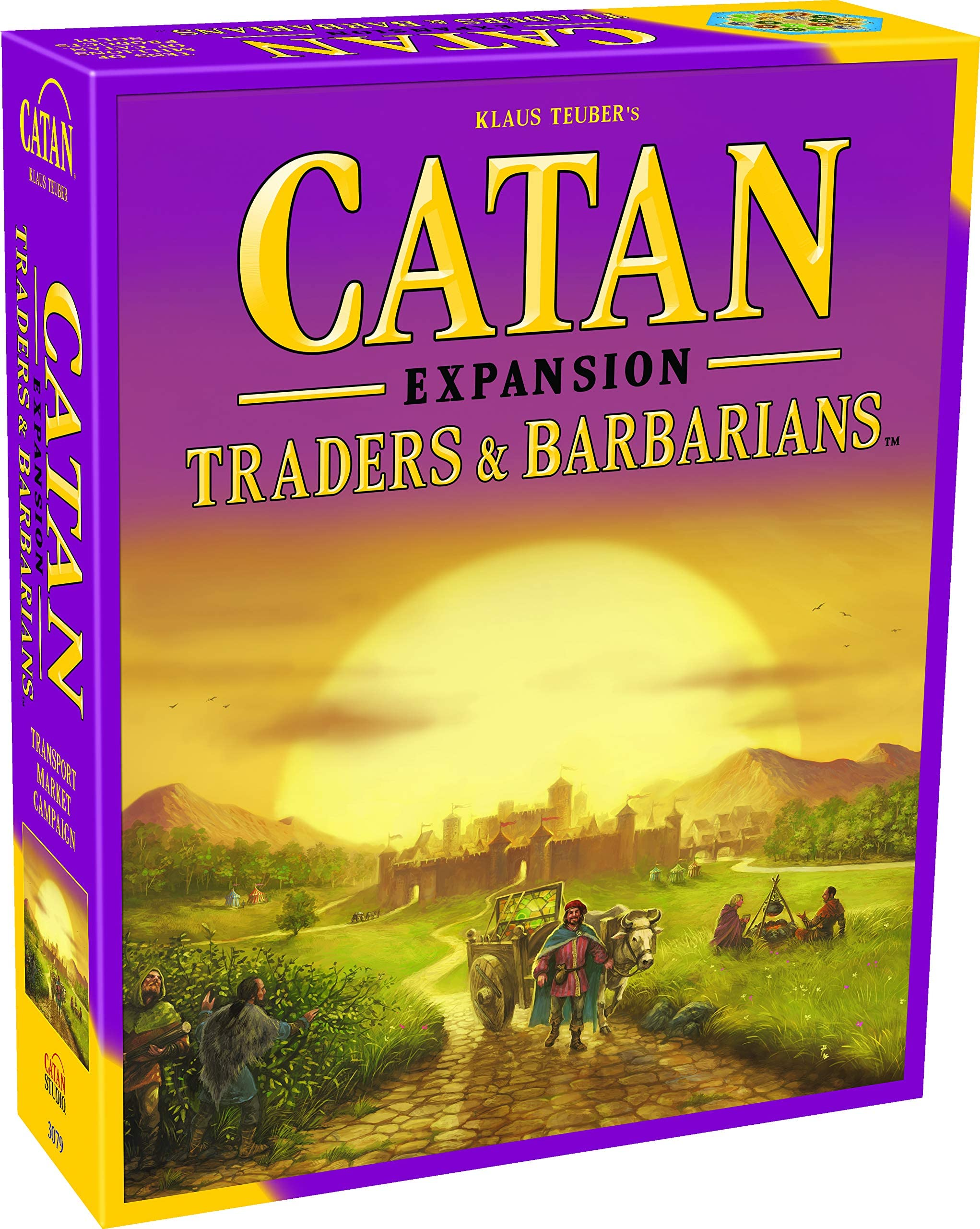 Catan Traders and Barbarians Board Game Expansion | Board Game for Adults and Family | Adventure Board Game | Ages 12+ | for 3 to 4 Players | Average Playtime 90 Minutes | Made by Catan Studio