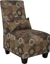 Serta Trinidad-Copenhagen Collection Slipper Accent Chair, Sage Print