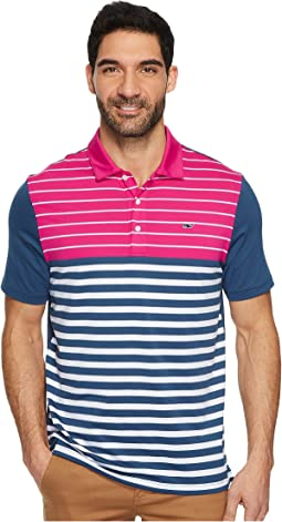 Vineyard Vines Golf - Patterson Stripe Performance Polo