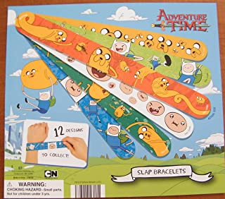 Adventure Time Figure Snap Bracelets / Wristbands Set of 12 different with Finn, Jake Etc