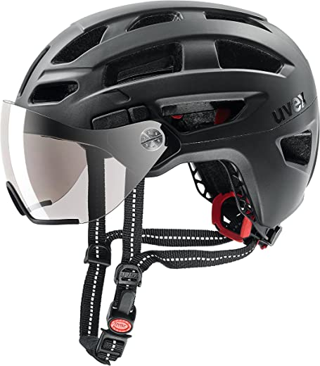 Uvex Unisex– Erwachsene, finale visor Fahrradhelm