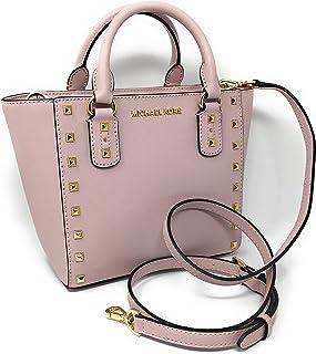 447f347434ea Michael Kors Sandrine Stud Small Leather Crossbody