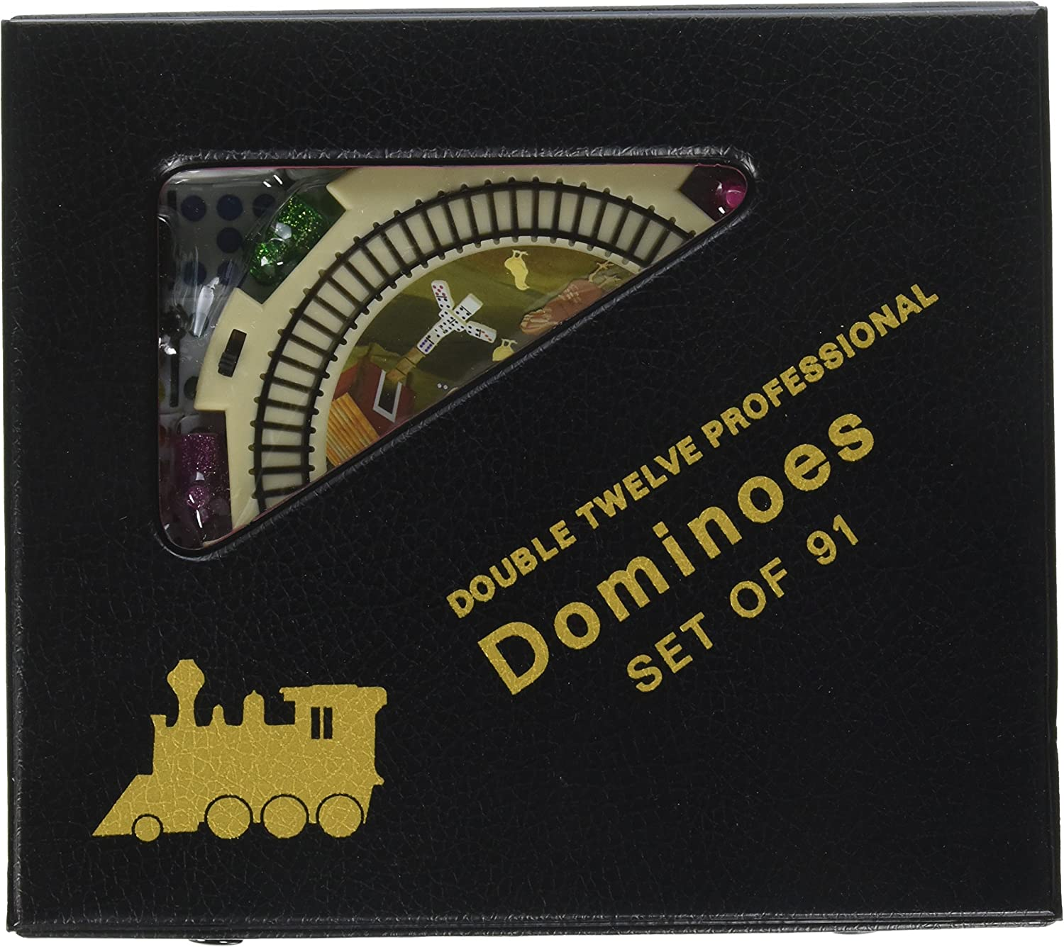 CHH New Double 12 Mexican Train Dominoes Set w Dots
