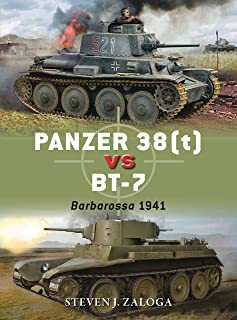 Panzer 38(t) vs BT-7: Barbarossa 1941 (Duel Book 78) (English Edition)